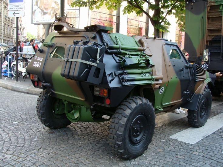 Light Armored Vehicle - Paris