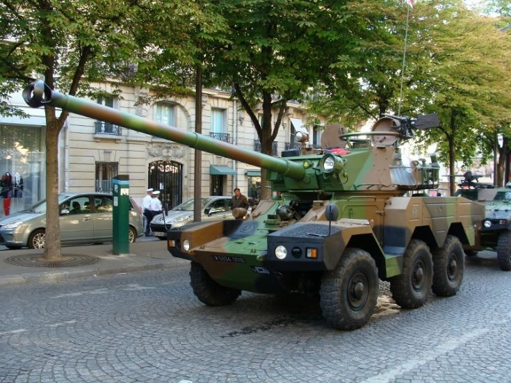 AMX 10 Armored Vehicle - Paris