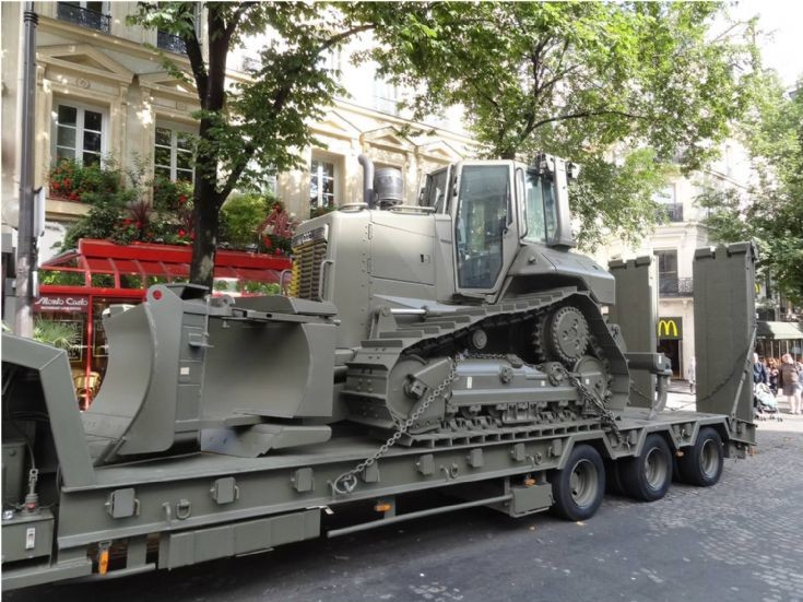 Bulldozer - Paris