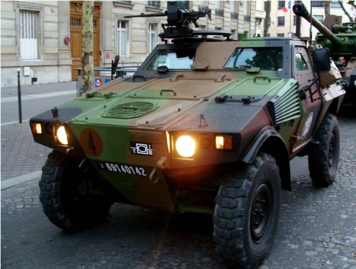 Armored Vehicle - Paris
