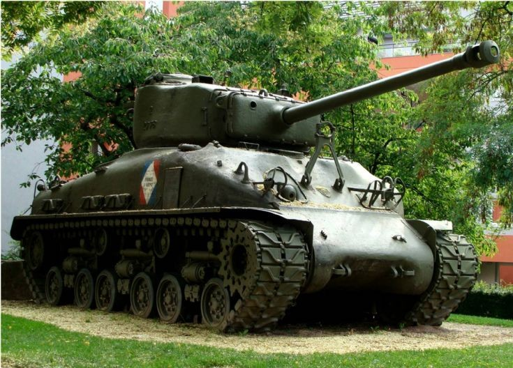 Sherman Tank - Colmar