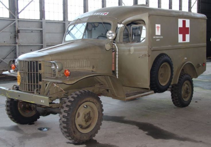 Dodge WC 27 Ambulance