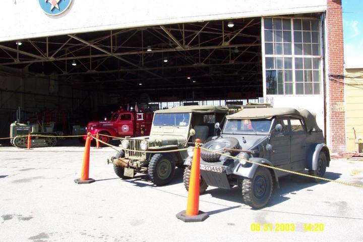 Kubelwagen, Jeep, Chevy Firetruck, Cletrac