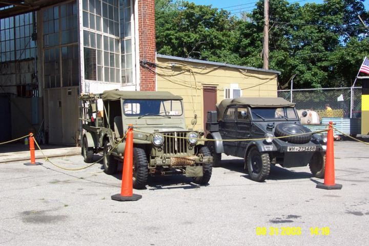 Willys Jeep and Kubelwagen
