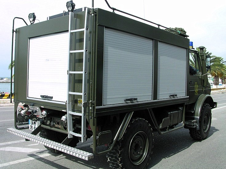 Unimog crash tender