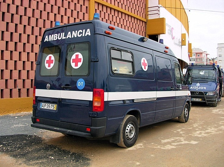 Portuguese VW Ambulancia