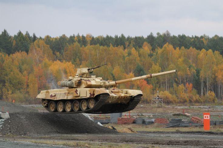 Танк Т-90С (T-90S tank)