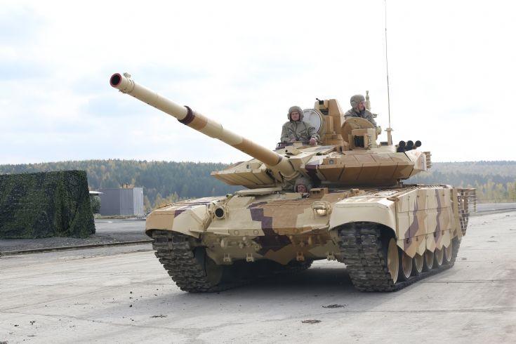 Танк Т-90СМ (T-90SM tank)