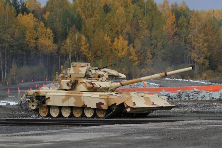 Modified T-72