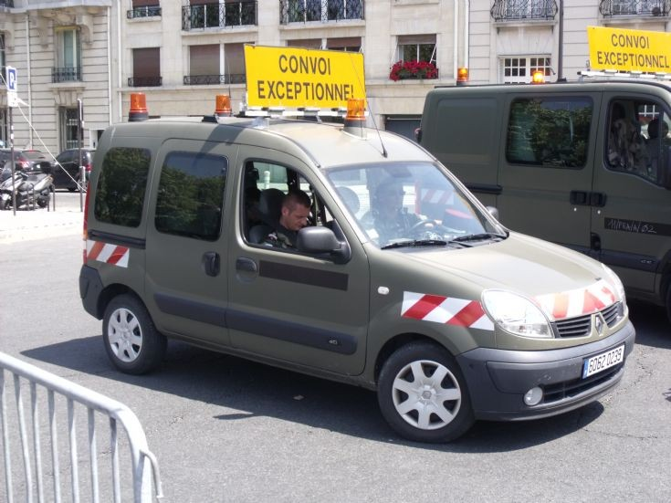 French Army Kangoo.