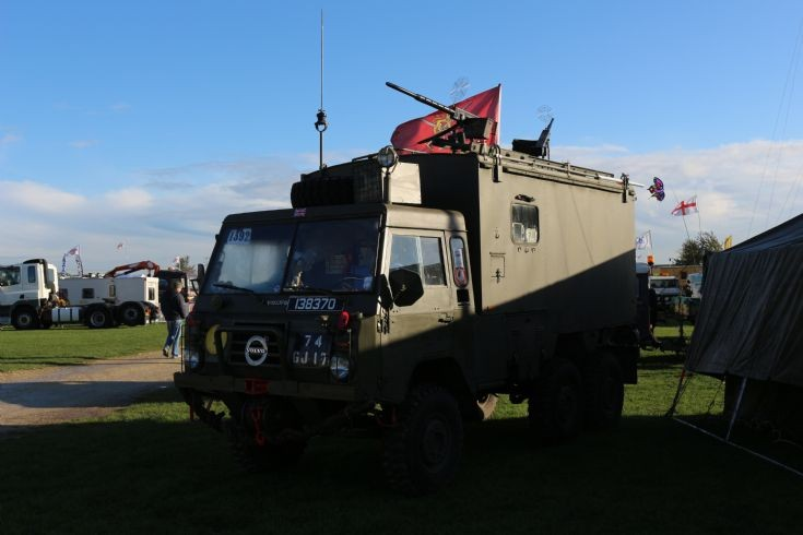 Volvo army truck