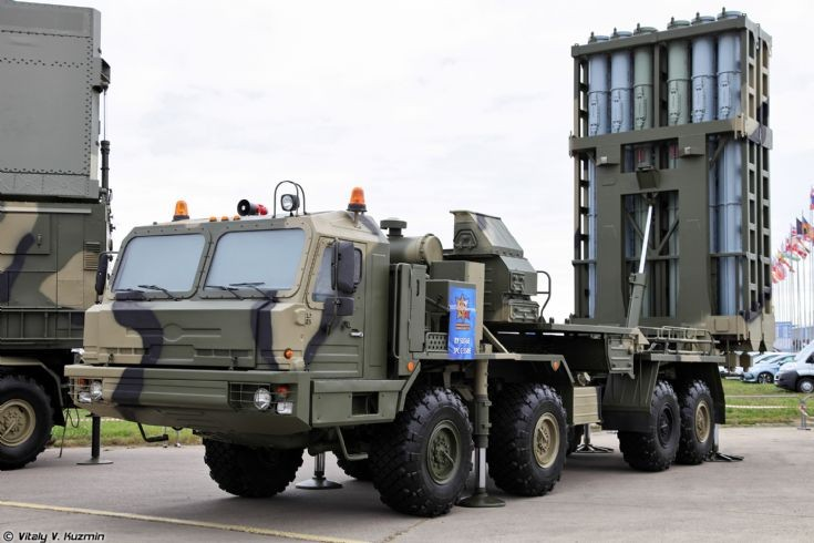 S-350E Vityaz Surface-to-air missile system