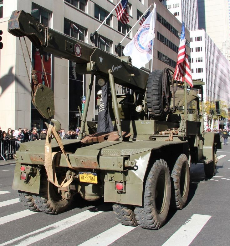 M-246 5-ton wreker w/ fifth wheel