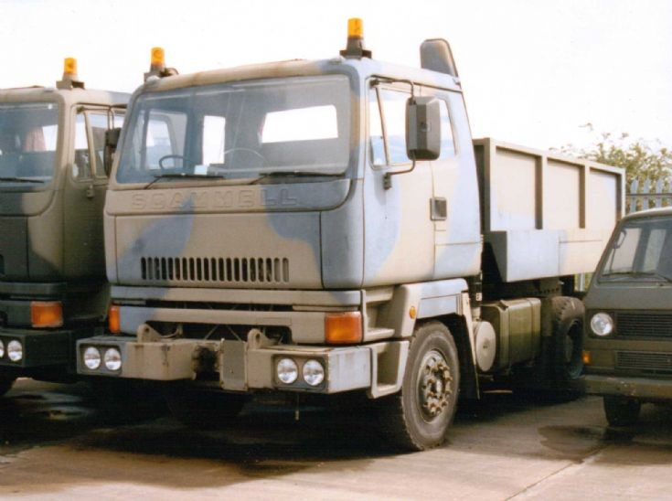 Scammell S26 - Ballasted Tractor