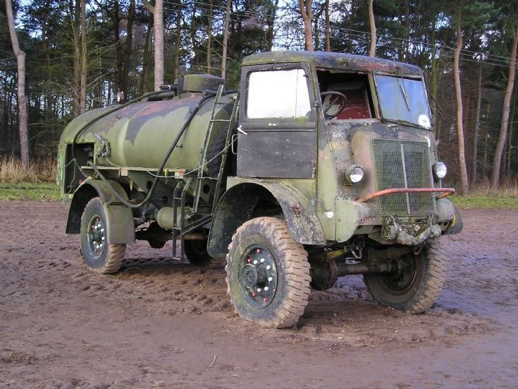 Bedford QL refueling truck