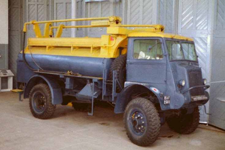 Bedford QL RAF refueler