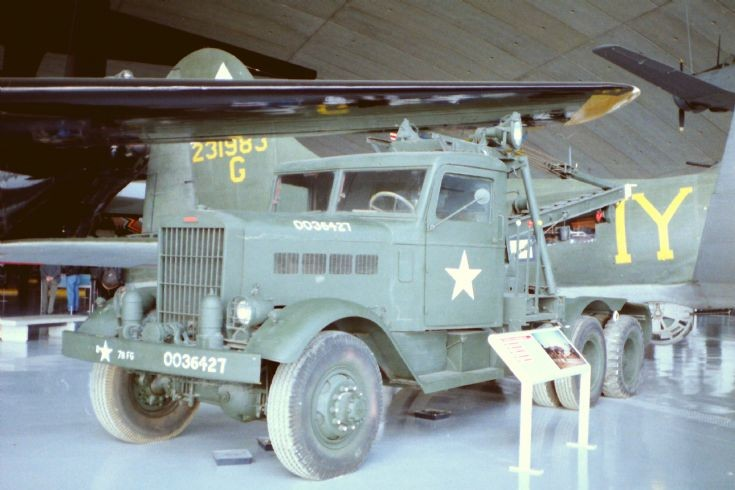 US army breakdown truck