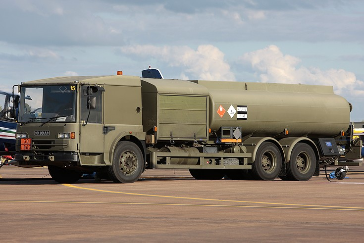 Dennis Air Transportable Refuelling Vehicle
