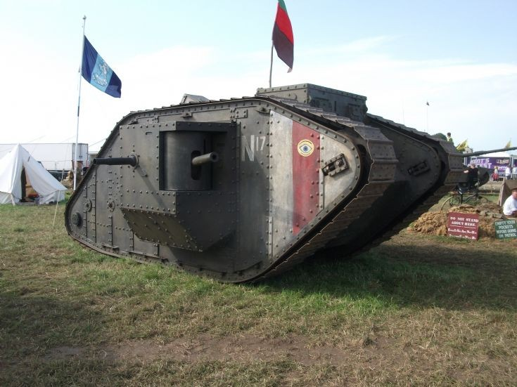 Mock WW1 Tank
