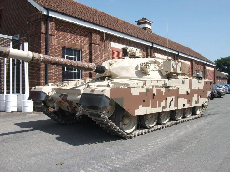 Shir II Tank