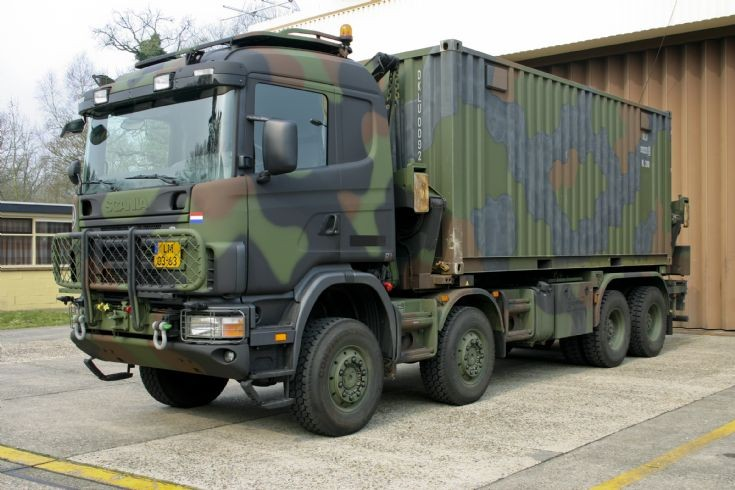 Royal Netherlands Airforce Scania ZLS