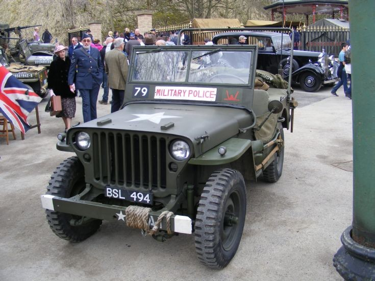 Ford GPW Jeep - BSL 494