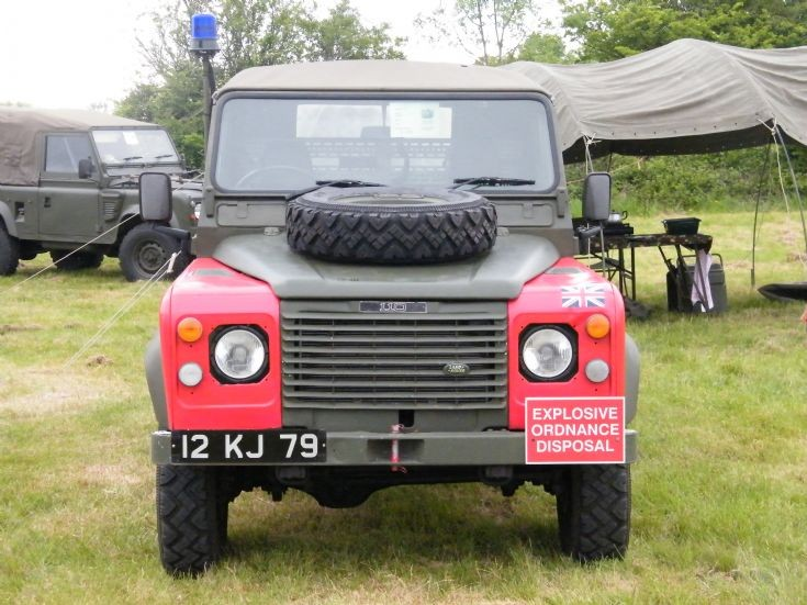 EOD Land Rover