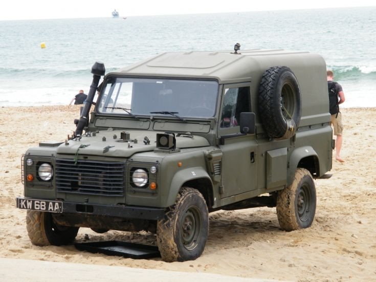 Land Rover. Bournemouth Airshow 2015