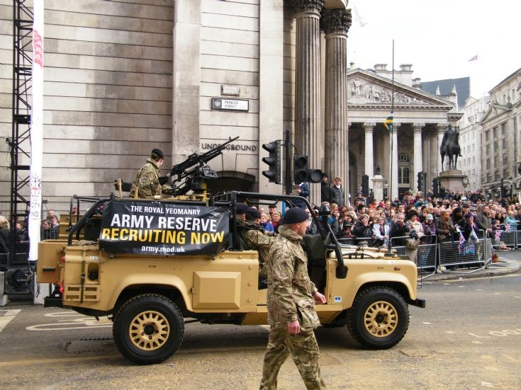 Land Rover. Lord Mayors Show London 2014