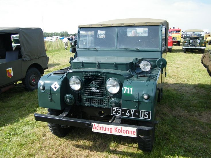 German Tempo Land Rover