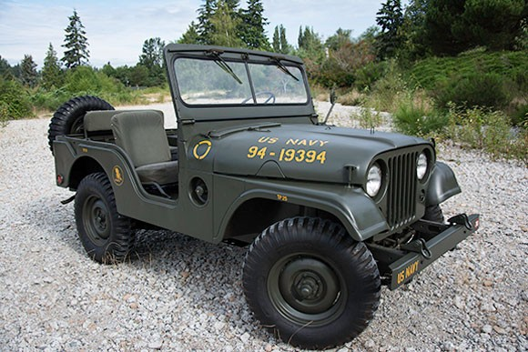 1953 M38A1 Seabees Jeep