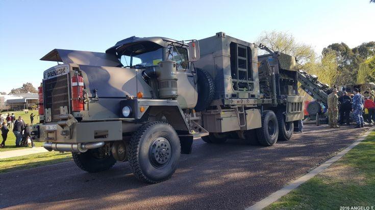 Australian Army Mack Artillery truck