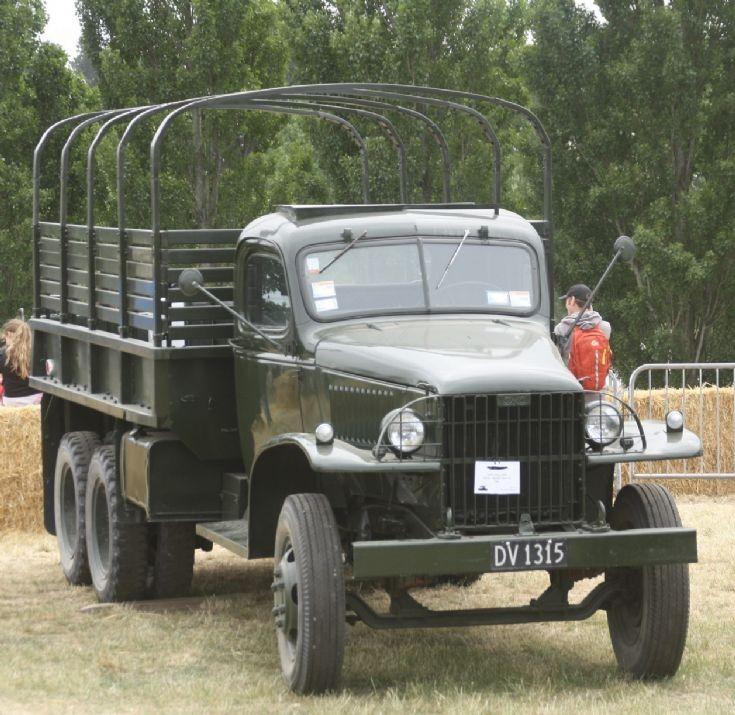1942 G.M.C. CCKW 353 Troop Carrier