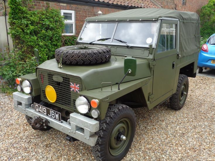1973 Land Rover Lightweight