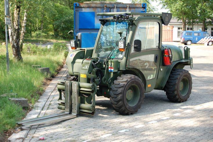 JCB Forklift Dutch Logistic brigade