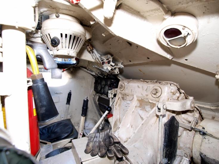 M24 Chaffee driver seat