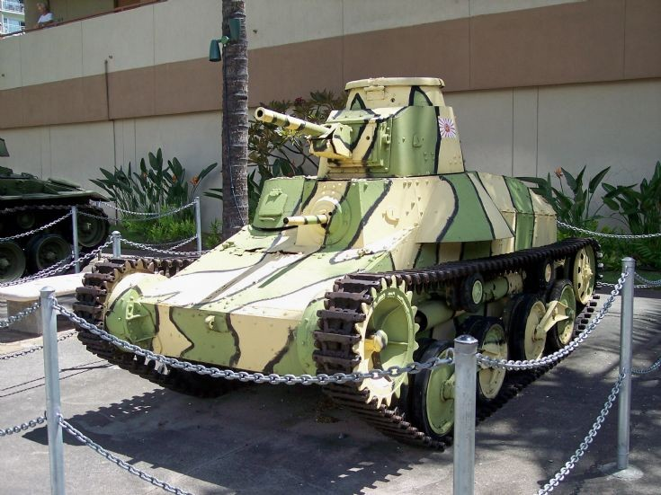 Japanese Light Tank
