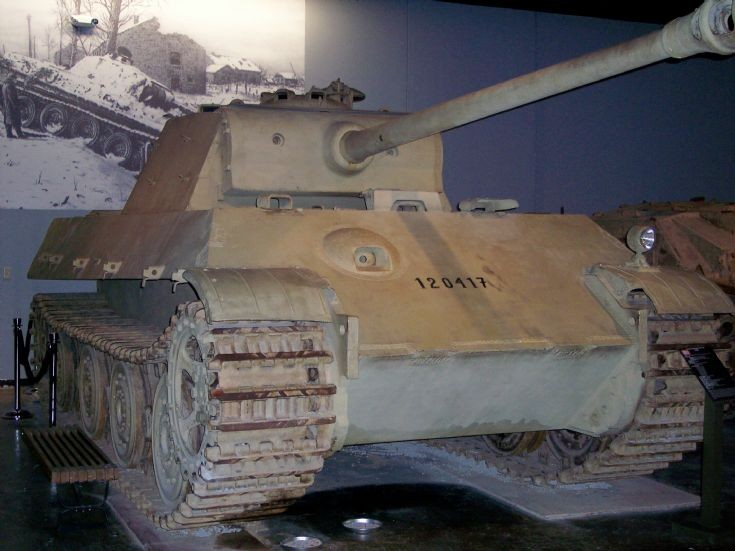 German Panther II Heavy Tank