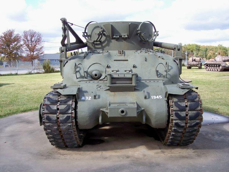 M-32 Tank Recovery Vehicle, WW2