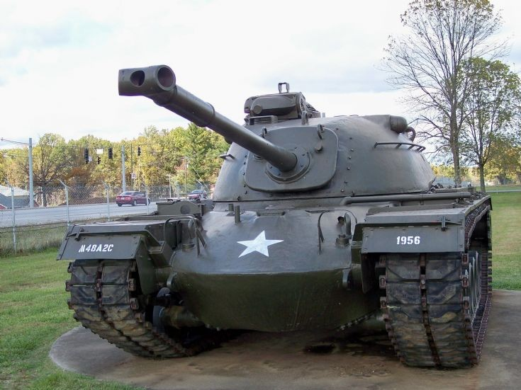 M-48A2C Patton with 90mm Gun