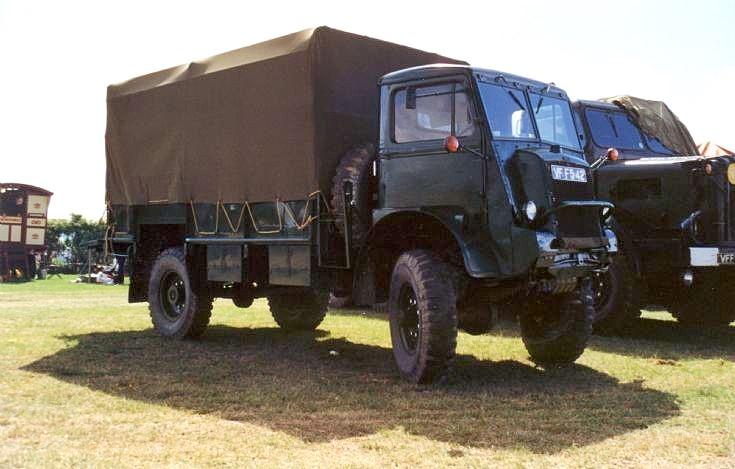 1940 Bedford QL 4x4 army truck