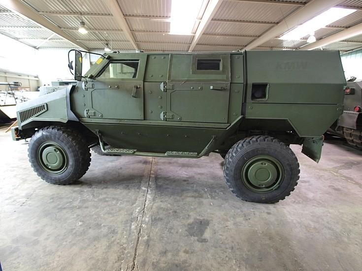 Allschutz-Transport-Fahrzeug  Dingo