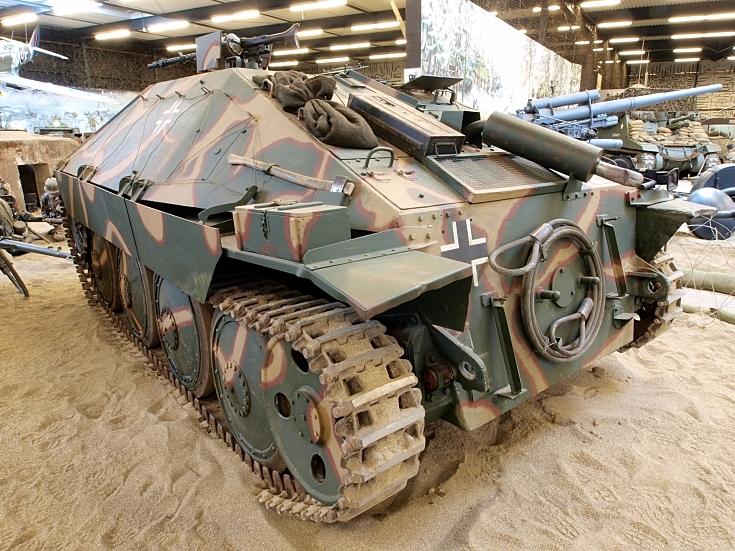 Hetzer (SdKfz 138) at Marshall Museum