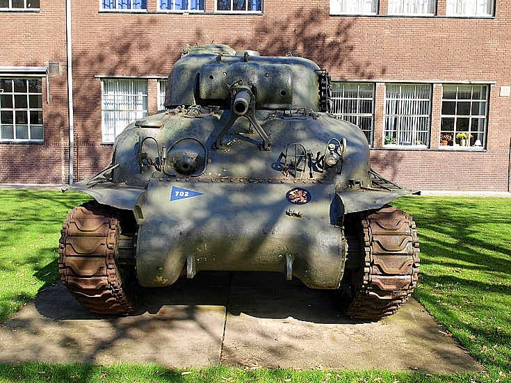 Sherman at Amersfoort