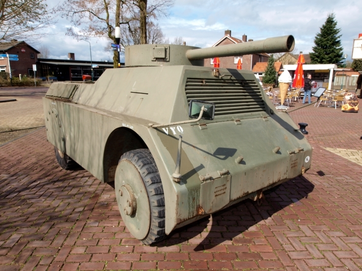 MOWAG Panzerattrappe at Marshall Museum