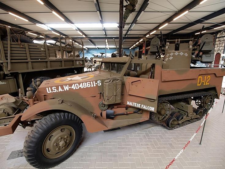 White M16A1 Half-Track