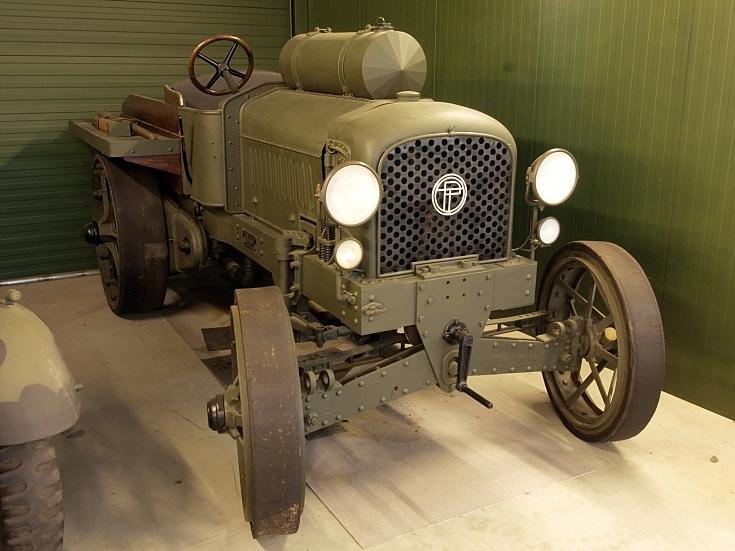 Pavesi-Tolotti Tipo B at Marshall Museum