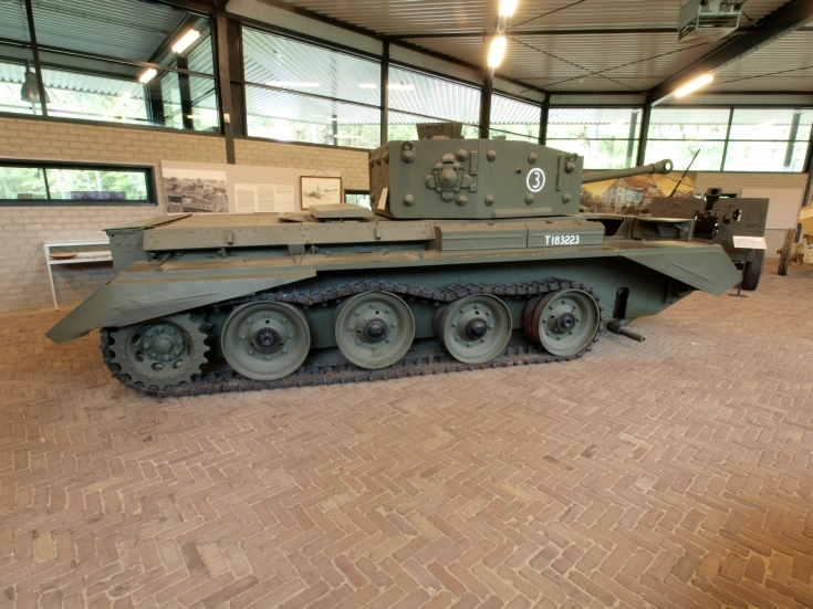 WWII Cromwell A27M tank