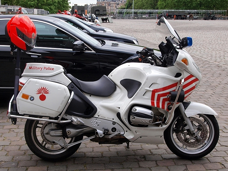 BMW of the Belgian Military Police