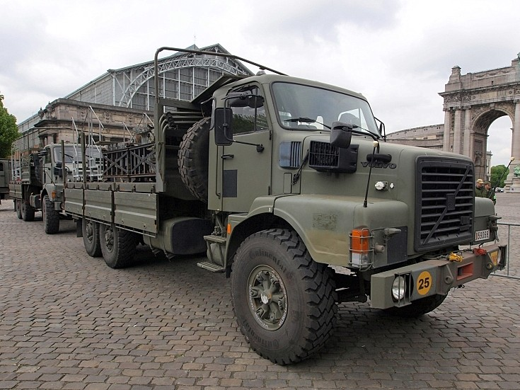 Volvo of the Belgian Army